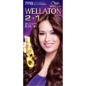 ウエラ(Wella)ウエラトーンツープラスワン(2+1)クリームタイプ7PB1セット