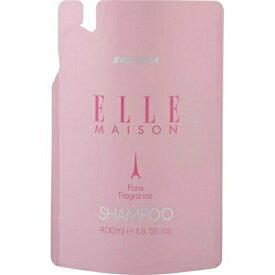 熊野油脂 ELLEMAISON エルメゾン ノンシリコン シャンプー 詰替え 400ml ×24個セット