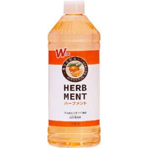 【送料込】 カネヨ石鹸 ハーブメント 除菌 オレンジ 大容量詰替え 800ml 1個