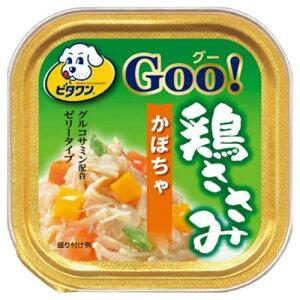 【送料込・まとめ買い×96個セット】日本ペットフード ビタワン グー 鶏ささみ かぼちゃ 100g 1個
