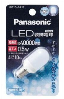 파나소닉 LED 장식 전구 T형 타입 주광색 LDT1DGE12(내용량: 1개)