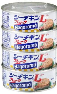 はごろも sea chicken L flake canned food (4902560012423)