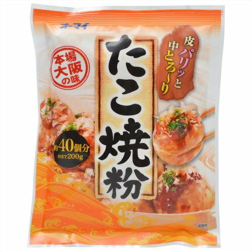 日本製粉 オーマイ たこ焼き粉 200g ×30個セット