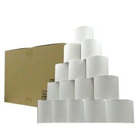 【送料込】 オリジナル商品 業務用ワンタッチコアレストイレットペーパー シングル 130m 6ロール ×8パック (48ロール) 1個