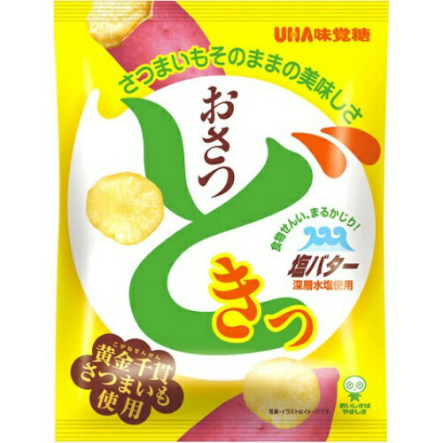 味覚糖 おさつどきっ 塩バター味 65g ×40個セット