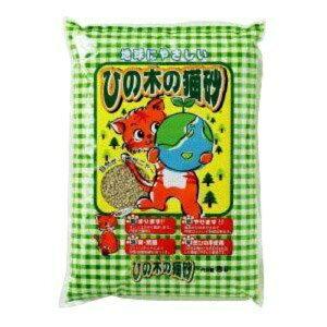 【ヒノキ】ひの木の猫砂7L