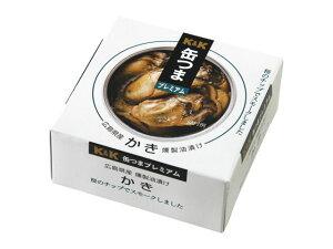 K&K 缶つまプレミアム 広島かき 燻製油漬け 60g 1個 (食品・缶詰・つまみ)