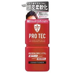 ライオン PRO TEC(プロテク) 頭皮ストレッチ コンディショナー ポンプ 300g 1個 (ヘアケア・日用雑貨・コンディショナー)