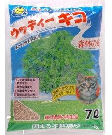 固まる木製猫砂 ウッディーキコ 7L 1個