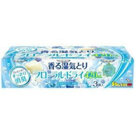 【送料込】白元アース フローラルドライ 420mL ホワイトアロマソープの香り 1個