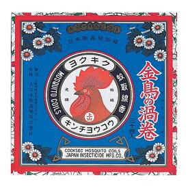 大日本除虫菊・金鳥 金鳥の渦巻き 30巻入 紙缶入り ×24個セット