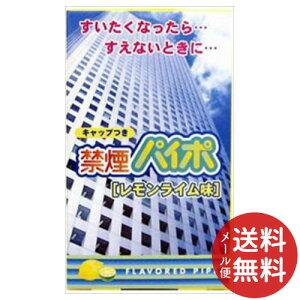 【メール便送料無料】ライテック 禁煙パイポ レモンライム味 3個入 1個