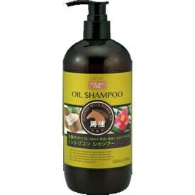 熊野油脂 ディブ 3種のオイル シャンプー 馬油・椿油・ココナッツオイル 本体 480ml ×20個セット
