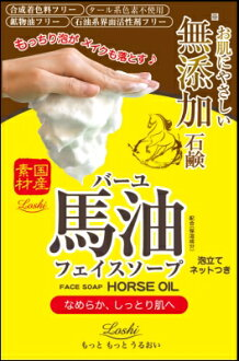 Rossimoistad horse oil SOAP 100 g baryu face SOAP x 48 pieces (4936201101474)