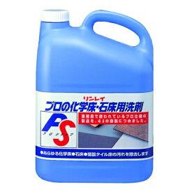 【送料込】 プロの化学床・石床用 洗剤 4L 1個