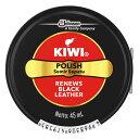 【メール便送料無料】ジョンソン KIWI 油性靴クリーム 黒 45ml 1個