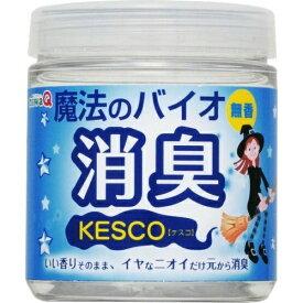 【送料込】 丹羽久 ケスコ 魔法のバイオ 消臭 ゼリータイプ 無香 165g 1個