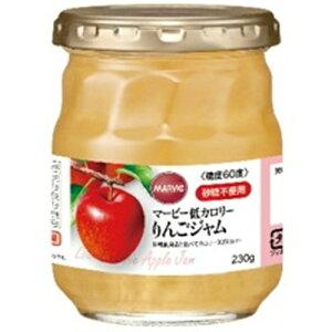 【送料込】H+Bライフサイエンス マービー 低カロリー りんごジャム 瓶詰 230g 1個