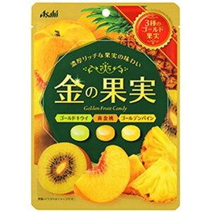 【送料込・まとめ買い×6個セット】アサヒ 金の果実キャンディ 84g 1個
