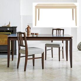ダイニングテーブル 組立式 DT-04-150 幅1500x奥行900x高さ700mm 桜屋工業