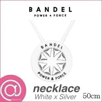 BANDEL van Dell necklace silver model WhitexSilver 50cm ※※