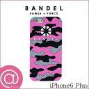 【正規品】BANDEL バンデルアイフォンケース カモフラージュ Pink iPhone6 Plus ※※