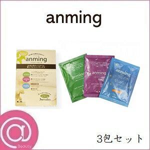 日本香堂 アンミング バスエッセンス ミニタイプ アソート3包セット