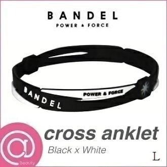 BANDEL 밴 델 크로스 앵클리트 Black×White L ※※