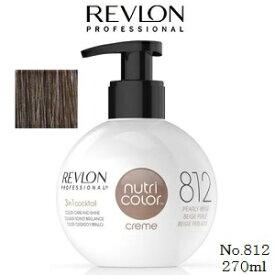 REVLON レブロン ニュートリカラークリーム 270ml No.812