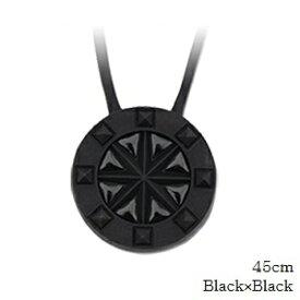 (正規品)バンデル スタッズ ネックレス Black×Black 45cm