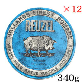 ルーゾー ストロングホールド ブルー ポマード HIGH SHINE 340g ×12セット
