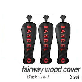 【正規品】BANDEL バンデル BG-フェアウェイウッドカバーセット Black 3本セット ※※