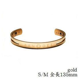 【正規品】バンデル チタン バングル Gold S/M ※※