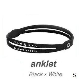 BANDEL van Dell anklet BlackxWhite S ※※