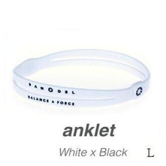 Vanderankletto BANDEL Whitexblack L *