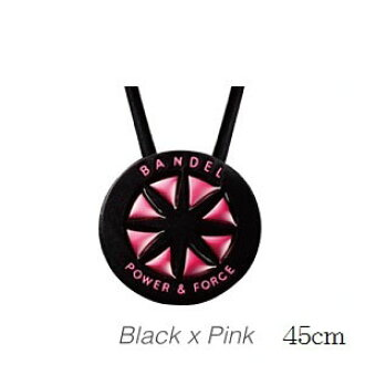 BANDEL Bandel metallic necklace BlackxPink 45 cm *