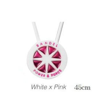 BANDEL Bandel metallic necklace WhitexPink 45 cm *