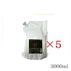 (×5セット)ナンバースリー プロアクション フォーシー シャンプー 3000ml レフィル 詰替用