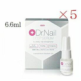 【×5セット・送料無料】「Dr.Nail」DEEP SERUM(ドクターネイル ディープセラム)6.6mL