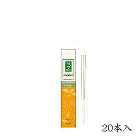 日本香堂 ハーブ+アース ベルガモット 20本入 (お香)