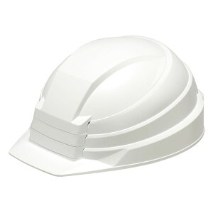 DICプラスチック株式会社 折りたたみ式 防災ヘルメット IZANO ホワイト 8362