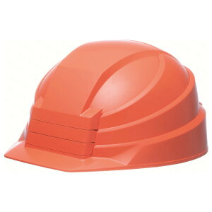 DICプラスチック株式会社 折りたたみヘルメット IZANO2 オレンジ 8593