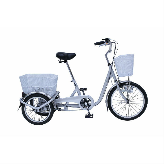 SWING CHARLIE 三輪自転車E MG-TRE20E スイングチャーリー 20インチ三輪自転車 メーカー直送 代引・日時指定不可 北海道・沖縄・離島配送不可