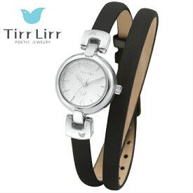 公式ライセンス 正規品 TirrLirr TIRRLIRR ティルリル 腕時計 ジュエリー ウォッチ レディース ブランド 革ベルト 人気 プレゼント twc-005BK