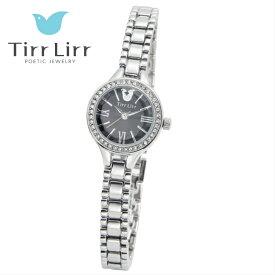 公式ライセンス 正規品 TirrLirr TIRRLIRR ティルリル 腕時計 ジュエリー ウォッチ レディース ブランド 人気 プレゼント twc-104RHBK