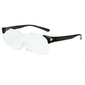 ルーペ メガネ 眼鏡 メガネタイプ 眼鏡型 拡大鏡 見やすい ノーマル 読書 新聞 パソコン 趣味 ブラックカラー 男女兼用 おすすめ 人気 プレゼント se-001単品