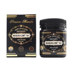 最高品質 UMF 10+ マヌカハニー 250g 100% MANUKA はちみつ 蜂蜜 健康食品 喉 乾燥 予防 抗菌活性 送料無料
