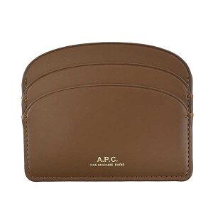 アーペーセー A.P.C. カードケース パスケース レディース ブランド ブラウン 茶色 F63270 母の日ギフト