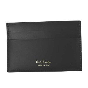 ポールスミス PAUL SMITH カードケース パスケース ブランド ブラック 黒 M1A-4768