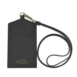 スマイソン SMYTHSON IDケース パスケース タグホルダー ネームタグ レディース ブランド ブラック 黒 1026695